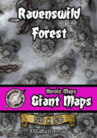 Heroic Maps - Giant Maps: Ravenswild Forest
