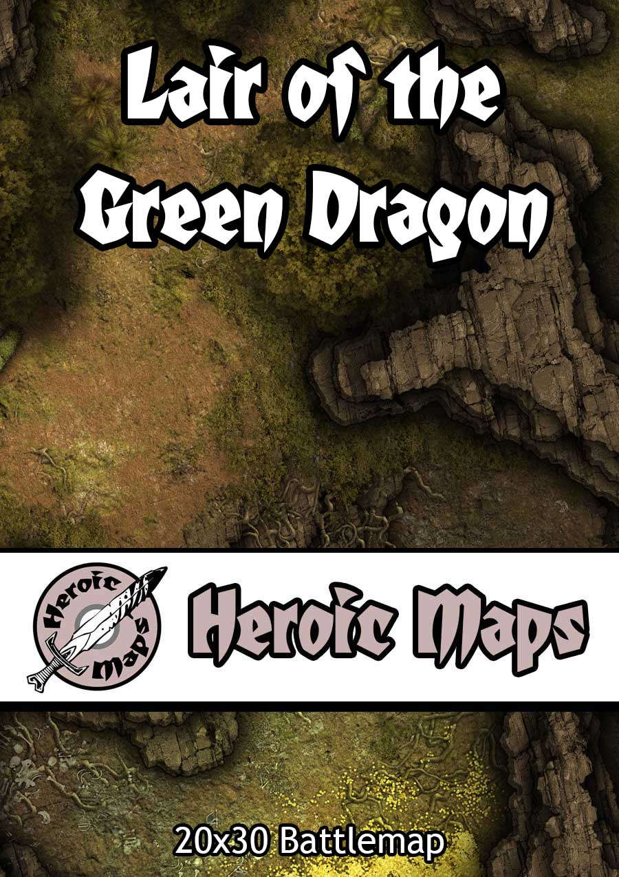 Heroic Maps - Lair of the Green Dragon