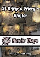 Heroic Maps - St Olfryc's Priory: Winter