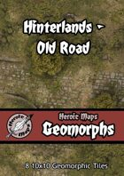 Heroic Maps - Geomorphs: Hinterlands Old Road