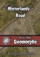 Heroic Maps - Geomorphs: Hinterlands Road