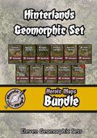 Heroic Maps - Hinterlands Geomorphic Set [BUNDLE]