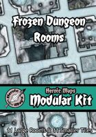 Heroic Maps - Modular Kit: Frozen Dungeon Rooms