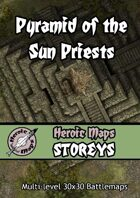 Heroic Maps - Storeys: Pyramid of the Sun Priests