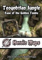 Heroic Maps - Teoyohtlan Jungle: Cave of the Golden Tombs