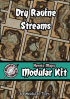Heroic Maps - Modular Kit: Dry Ravine Streams