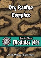 Heroic Maps - Modular Kit: Dry Ravine Complex