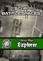 Heroic Maps - Explorer: Sci-Fi Battlespaces