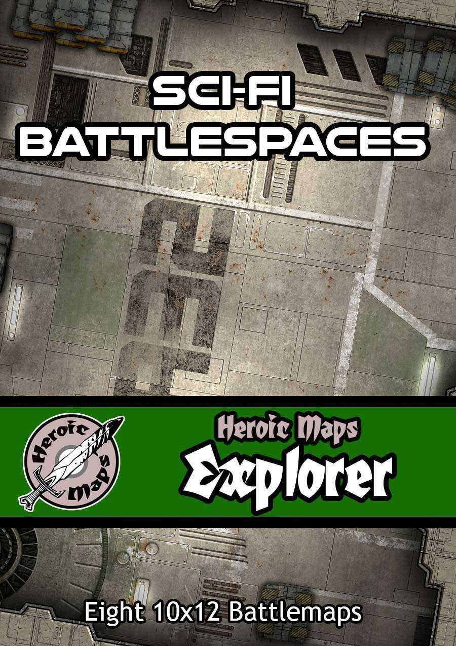Heroic Maps - Explorer: Sci-Fi Battlespaces