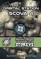 Heroic Maps - Storeys: Orbital Station Scova 4