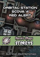 Heroic Maps - Storeys: Orbital Station Scova 4 - Red Alert