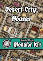 Heroic Maps - Modular Kit: Desert City - Houses