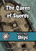 Heroic Maps - Ships: The Queen of Swords