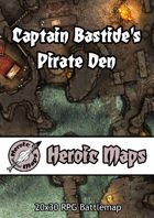 Heroic Maps - Captain Bastide's Pirate Den