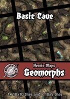 Heroic Maps - Geomorphs: Basic Cave