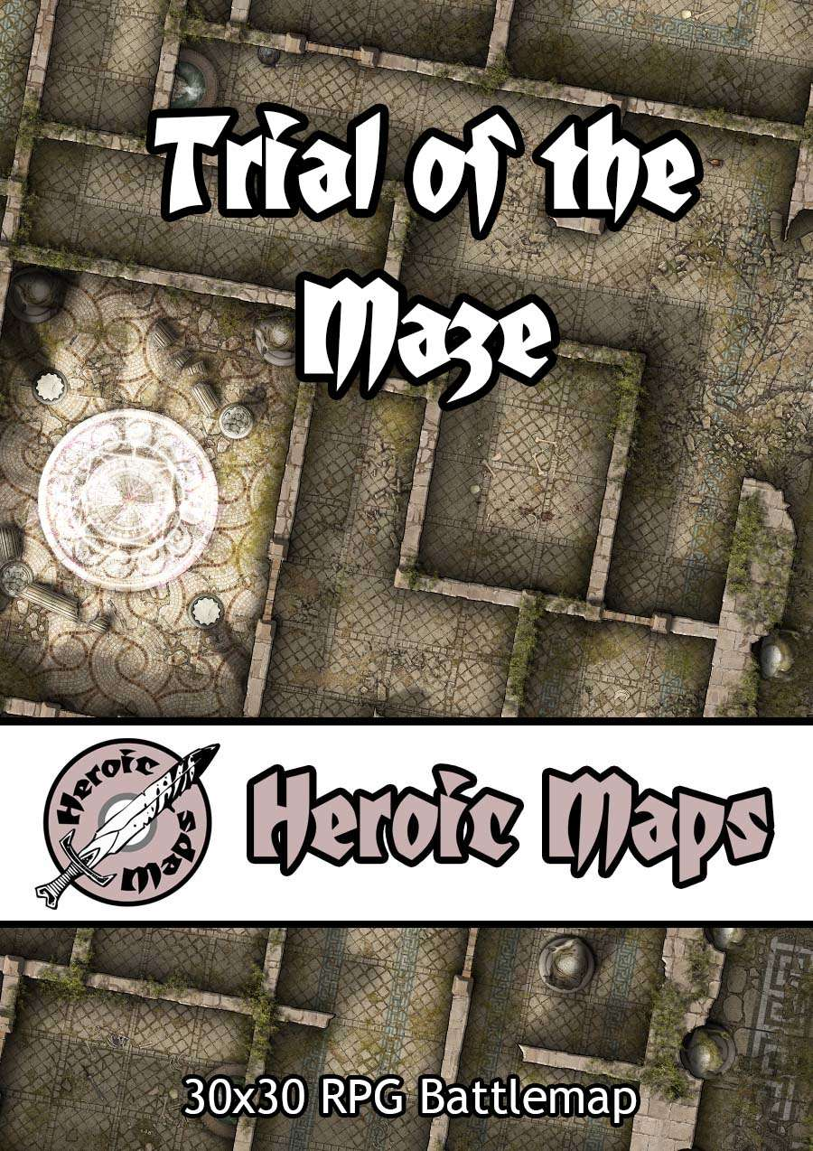Heroic Maps - Trial of the Maze
