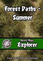 Heroic Maps - Explorer: Forest Paths Summer
