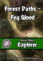 Heroic Maps - Explorer: Forest Paths Fey Wood