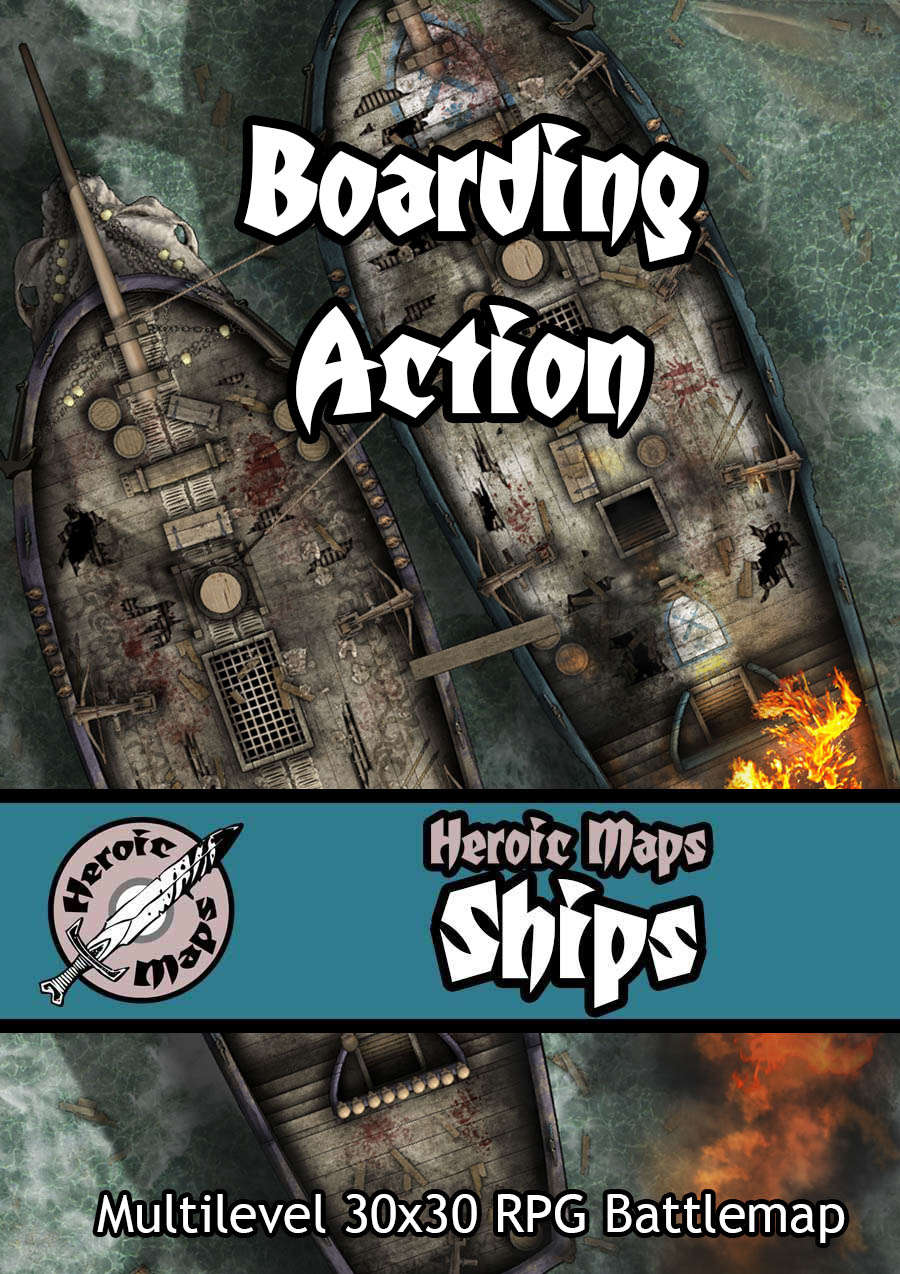 Heroic Maps - Ships: Boarding Action