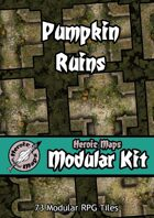 Heroic Maps - Modular Kit: Pumpkin Ruins