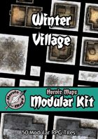 Heroic Maps - Modular Kit: Winter Village
