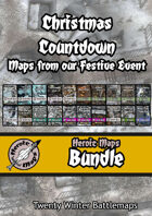 Heroic Maps - Christmas Countdown Maps [BUNDLE]