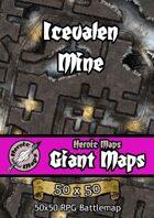 Heroic Maps - Giant Maps: Icevalen Mine