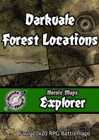Heroic Maps - Explorer: Darkvale Forest Locations