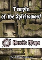 Heroic Maps - Temple of the Spiritsword
