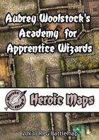 Heroic Maps - Aubrey Woolstock's Academy for Apprentice Wizards
