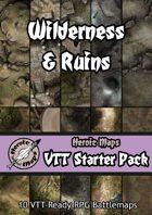 Heroic Maps - VTT Starter Pack: Wilderness & Ruins