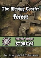 Heroic Maps - Storeys: The Moving Castle - Forest