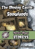 Heroic Maps - Storeys: The Moving Castle - Snowlands