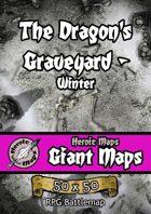 Heroic Maps - Giant Maps: The Dragon's Graveyard - Winter