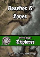 Heroic Maps - Explorer: Beaches & Coves