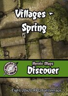 Heroic Maps - Discover: Villages - Spring