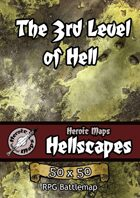 Heroic Maps - Hellscapes: The 3rd Level of Hell
