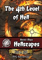 Heroic Maps - Hellscapes: The 4th Level of Hell
