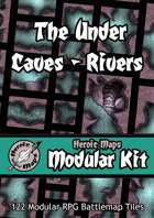 Heroic Maps - Modular Kit: The Under Caves - Rivers