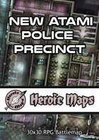Heroic Maps - New Atami Police Precinct