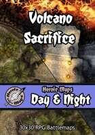 Heroic Maps - Day & Night: Volcano Sacrifice