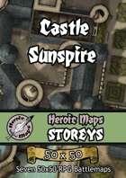 Heroic Maps - Storeys: Castle Sunspire