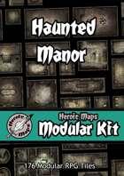 Heroic Maps - Modular Kit: Haunted Manor