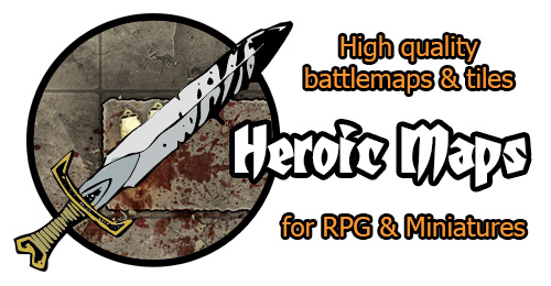 Heroic Maps for RPG & Miniatures