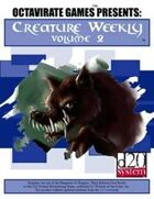 Creature Weekly Volume 2