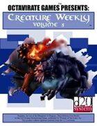 Creature Weekly Volume 3