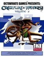 Creature Weekly Volume 5