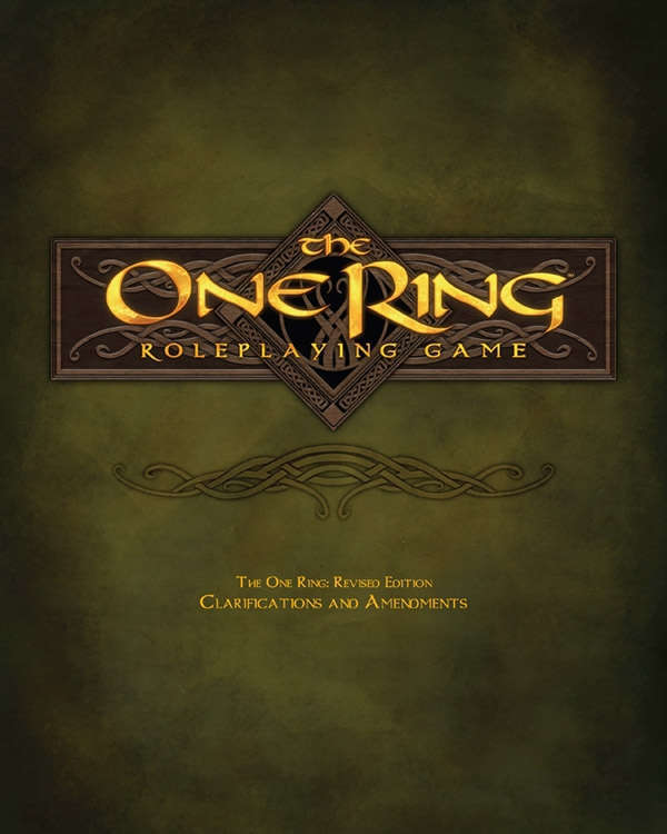 The One Ring Roleplaying Game Revised Edition