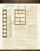 Adventures in Middle-earth Character Sheets