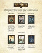 The One Ring Roleplaying Game Catalogue